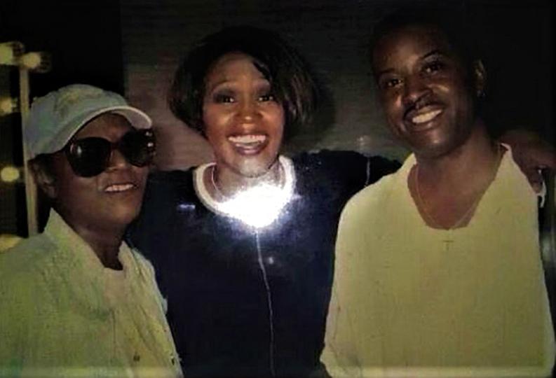 Dee Dee Warwick, Whitney Houston, Dee Dee's nephew
