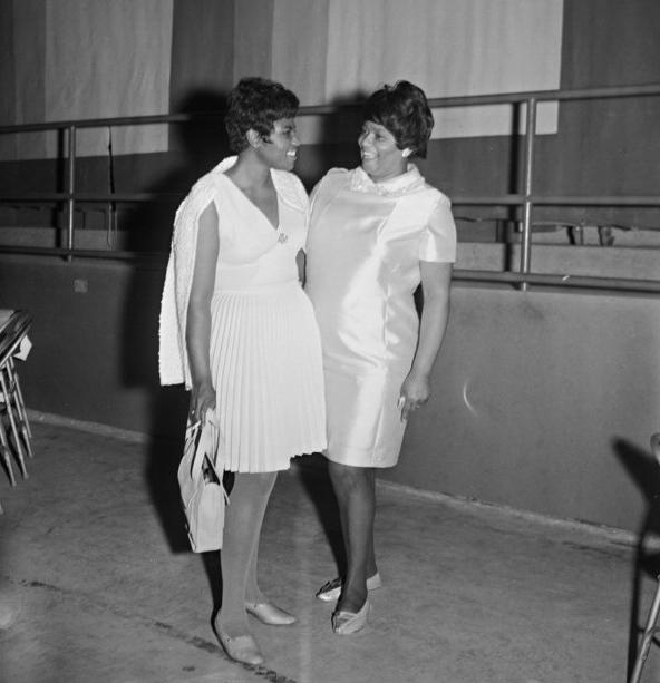 Dee Dee Warwick and Ida Jones (July 1969)