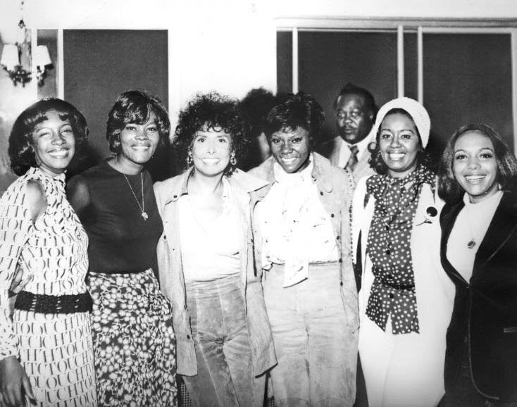 Mary Wilson, Dionne Warwick, Lena Home, DeeDee Warwick (1973)